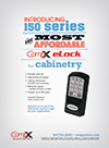 Click here to download a pdf of the CompX eLock 150 series cabinet Ad